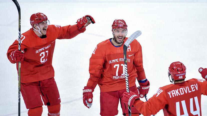Ковальчук забросил шайбу на пятой Олимпиаде подряд