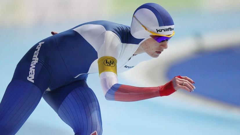 Удивительное скольжение: конькобежка Воронина вырвала бронзу на дистанции 5000 м Игр в Пхёнчхане
