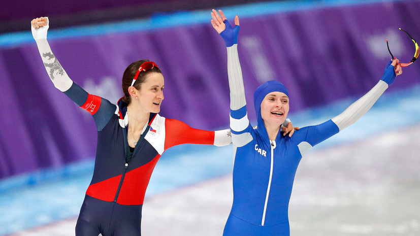 Чешская конькобежка Сабликова призналась, что Воронина помогла ей выиграть серебро на дистанции 5000 м в рамках ОИ-2018