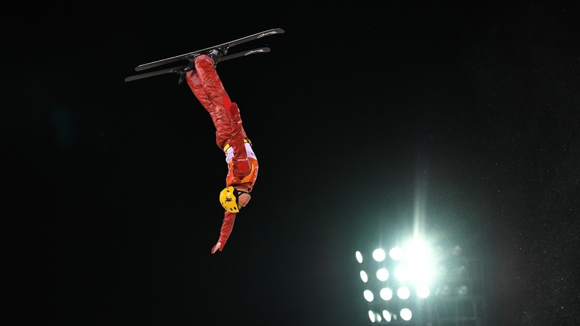 Фристайлист Кротов вышел в финал соревнований по лыжной акробатике на ОИ-2018