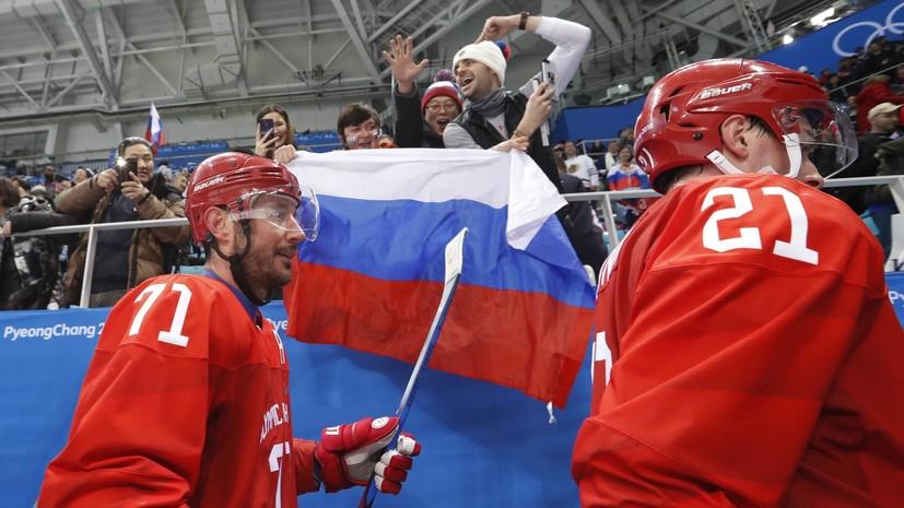 Сборная России по хоккею заменила тренировку на льду занятием в тренажёрном зале Олимпийской деревни