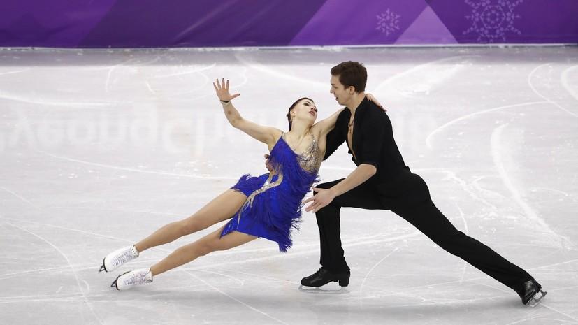 Боброва и Соловьёв занимают шестое место после короткой программы в танцах на льду на ОИ-2018
