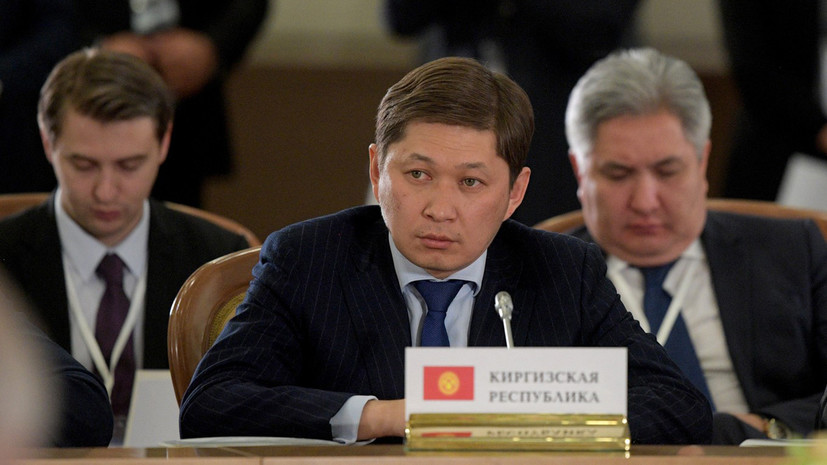Премьер Киргизии получил чёрный пояс по тхэквондо