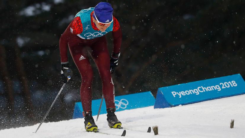 Лыжники Спицов иБольшунов выиграли серебро вкомандном спринте