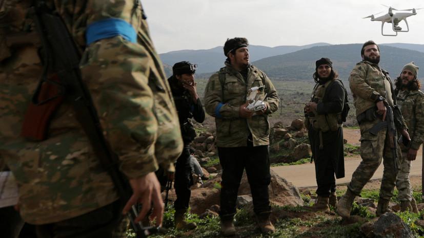 Источник: сирийские ополченцы вошли в Африн