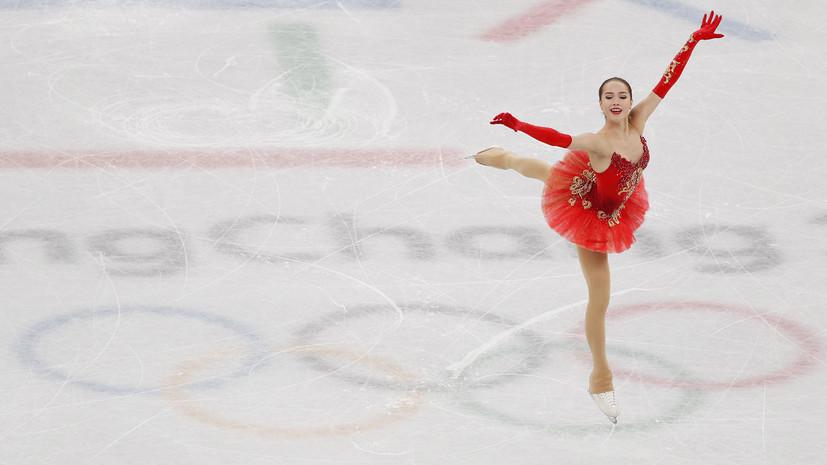 Загитова побила мировой рекорд Медведевой в короткой программе на Олимпиаде в Пхёнчхане