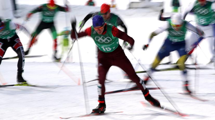 Лыжник Большунов рассказал, что помешало побороться за золото в командном спринте на ОИ-2018