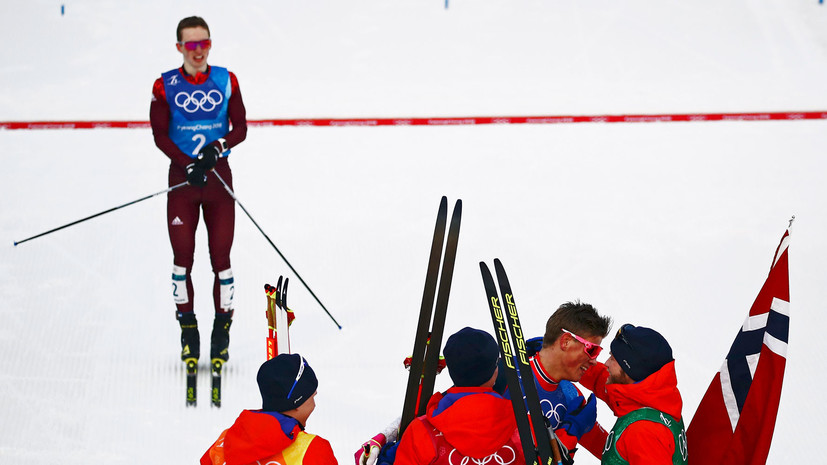 Спицов рассказал о своей ошибке во время командного спринта лыжников на ОИ-2018