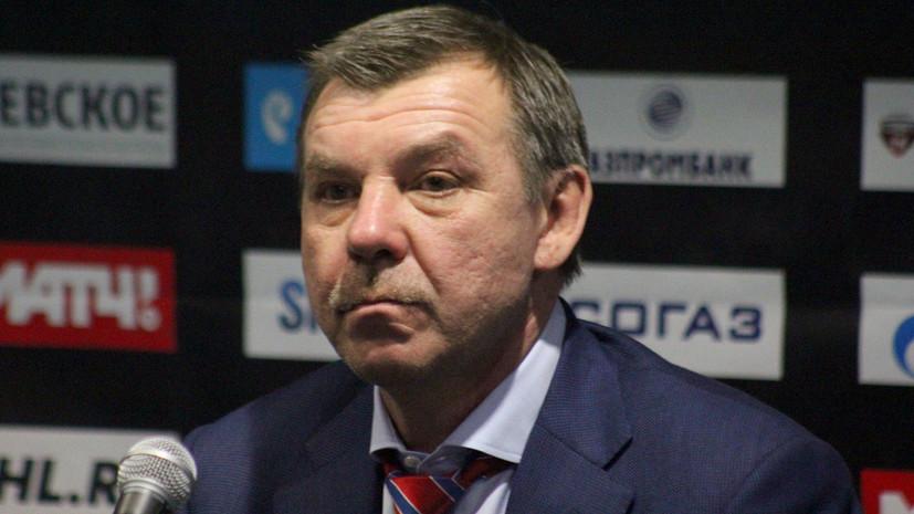 Знарок: в матче с Норвегией осознанно сделали ставку на первый период