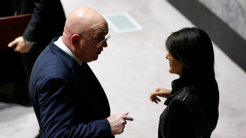«Соблюдайте элементарное дипломатическое приличие»: Небензя резко ответил на слова Хейли о «режиме Путина»