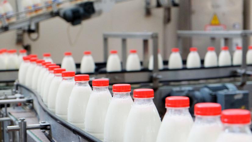 Россельхознадзор запретил ввоз молока из Белоруссии