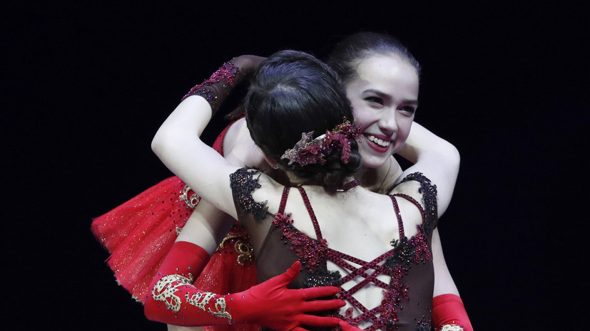 Триумф юности: фигуристка Загитова принесла сборной России первую золотую медаль Игр, Медведева завоевала серебро