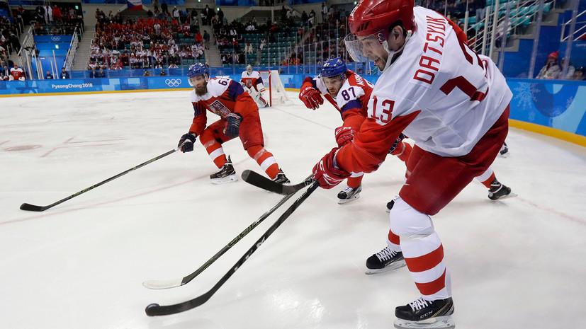 Дацюк: Кошечкин выручил российских хоккеистов