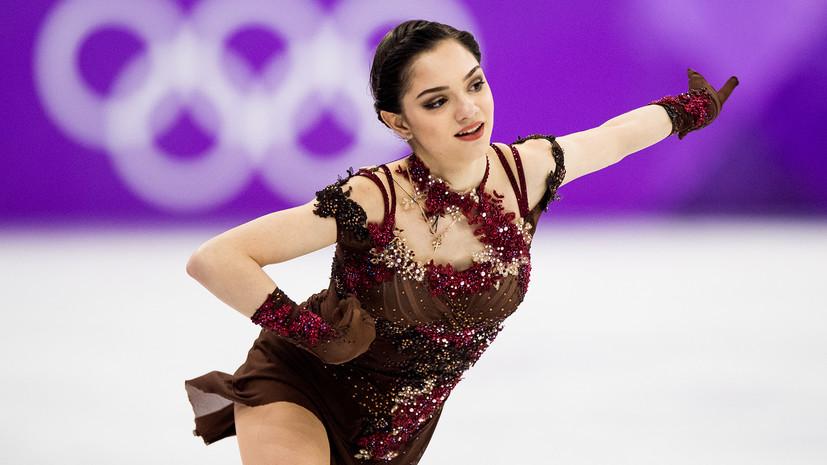 Медведева поблагодарила Путина за возможность выступить на Олимпиаде