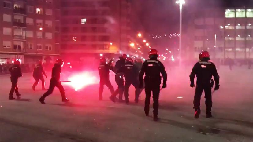 В ФИФА прокомментировали инциденты в Бильбао между российскими и испанскими фанатами