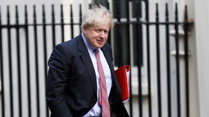 Джонсон призвал кединству Запада внеприятии аннексии Крыма