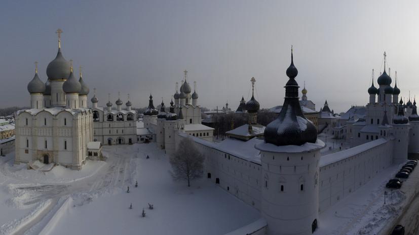 Путин поручил расширить туристическое Золотое кольцо России
