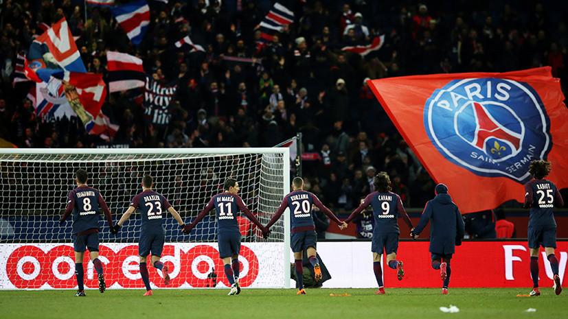 ПСЖ одержал крупную победу над «Марселем» в матче 27-го тура чемпионата Франции по футболу