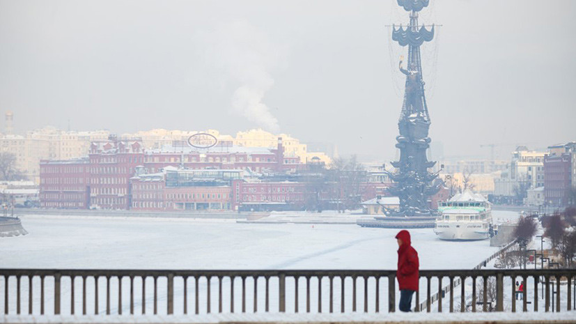 В Москве 26 февраля ожидается до -16 °С