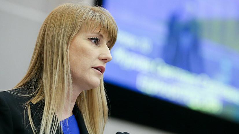 Журова прокомментировала заявление Тарпищева о возможном скором восстановлении статуса ОКР