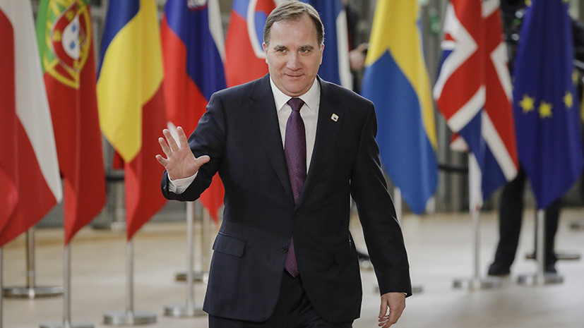 Премьер-министр Швеции попал в ДТП