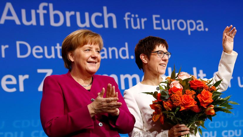 Блок партий Меркель одобрил соглашение с социал-демократами