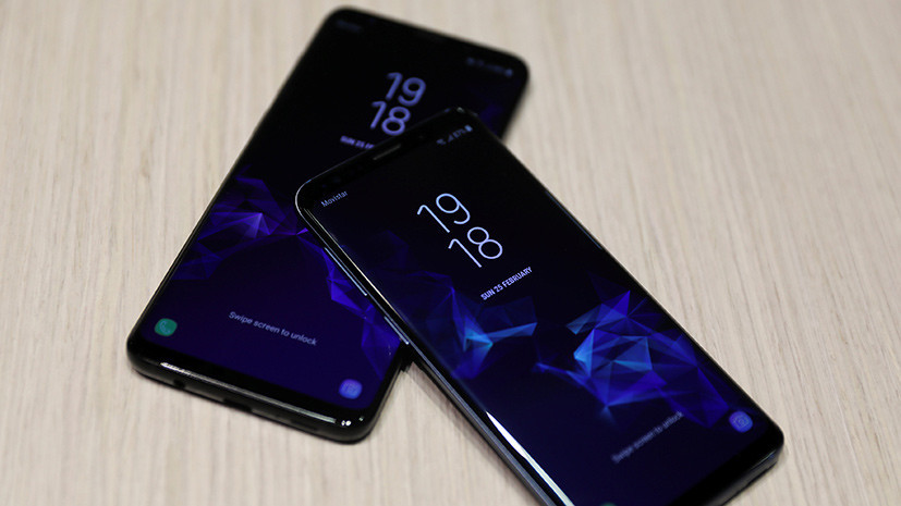 Блогер оценил новый смартфон Samsung Galaxy S9+