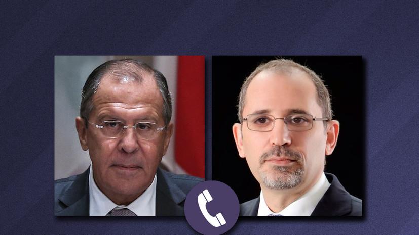 Главы МИД России и Иордании обсудили ситуацию в Восточной Гуте