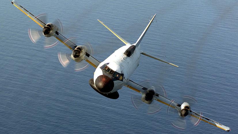 У российских границ на Чёрном море замечен американский самолёт-разведчик