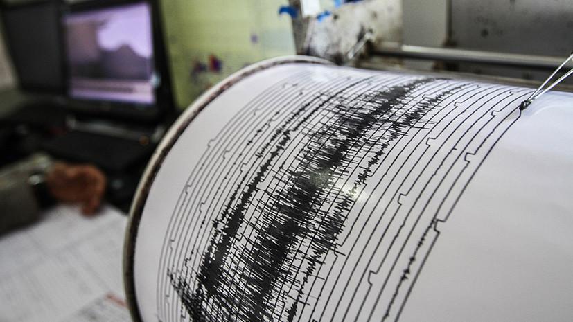 У Курильских островов произошло землетрясение магнитудой 5,4