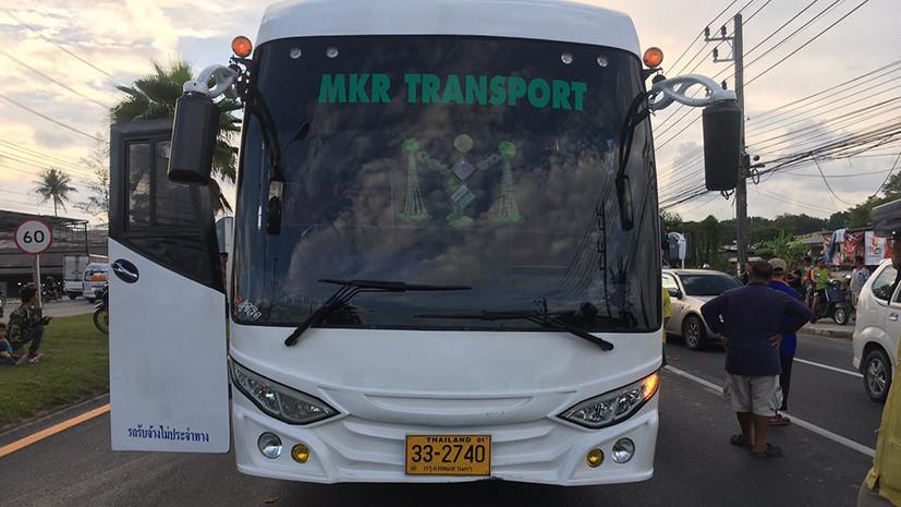 СМИ: В Таиланде автобус с туристами из России попал в ДТП