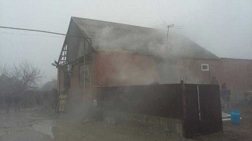 В Чечне при взрыве газа в частном доме пострадали 10 человек