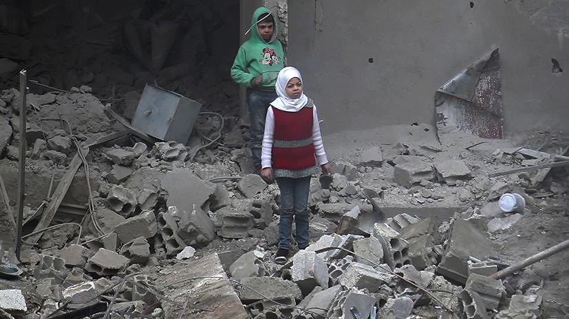 «Идёт интенсивный огонь со стороны боевиков»: мирные жители не могут покинуть Восточную Гуту из-за обстрелов террористов