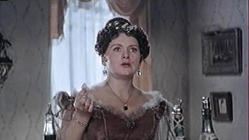 Немоляева о Карповой: она отдала всю свою жизнь театру