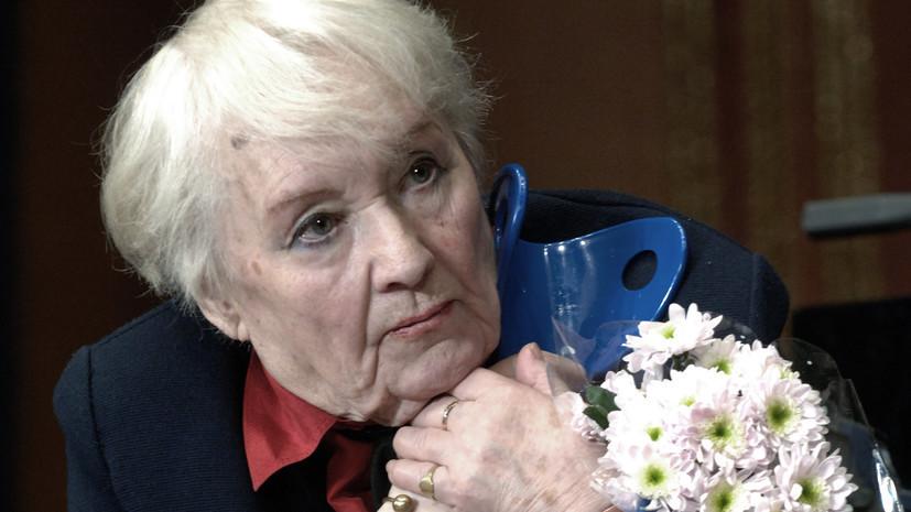 В Госдуме выразили соболезнования в связи со смертью актрисы Карповой