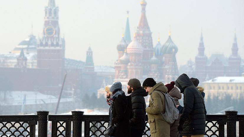 В Москве продлили «оранжевый» уровень погодной опасности из-за морозов