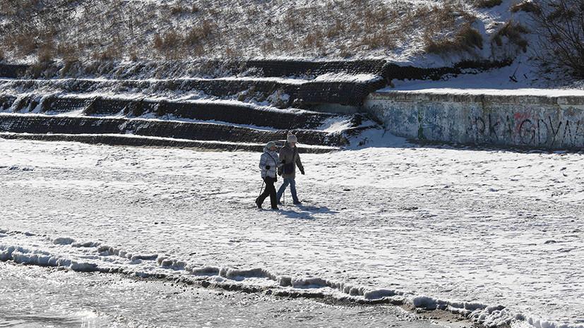 За последние дни в Польше из-за морозов погибли пять человек