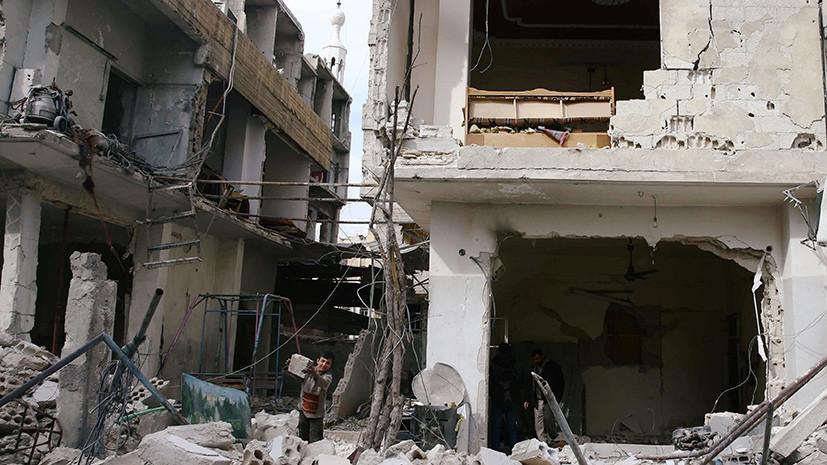 Боевики продолжают обстрелы Дамаска из Восточной Гуты