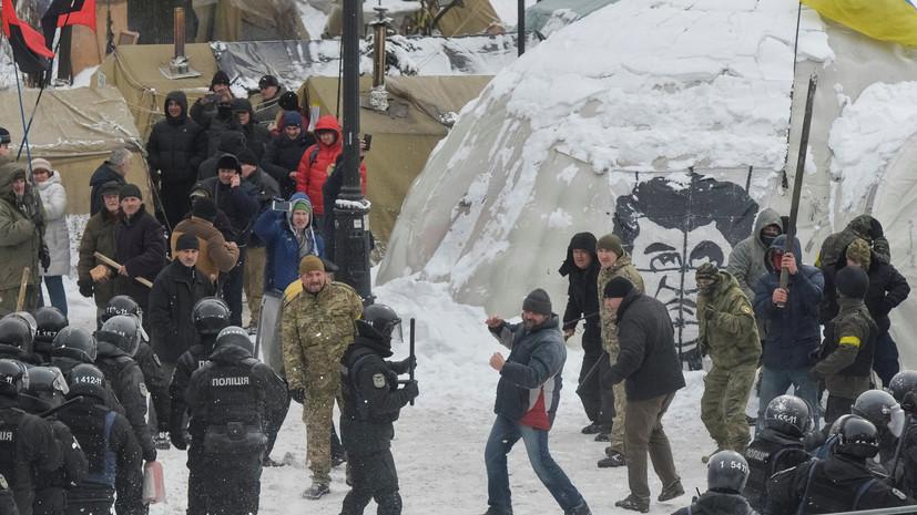 Саакашвили заявил о непричастности его сторонников к столкновениям у Рады
