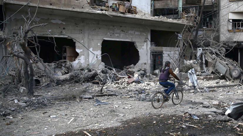 Глава МИД Франции назвал четыре пункта плана по гуманитарной ситуации в Сирии