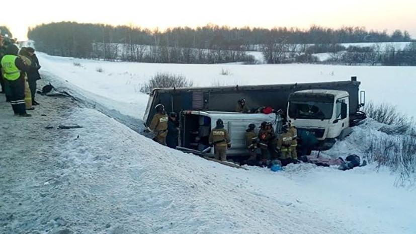 Источник сообщил о гибели семи человек в ДТП в Башкирии