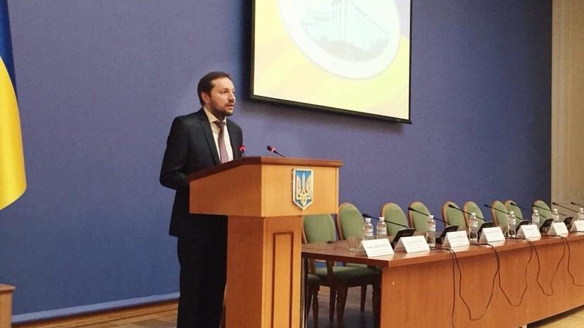 Украинский министр прокомментировал сообщения о своём падении в обморок в ходе выступления