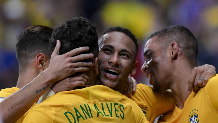 В сборной Бразилии по футболу объяснили выбор Сочи в качестве базы на время ЧМ-2018