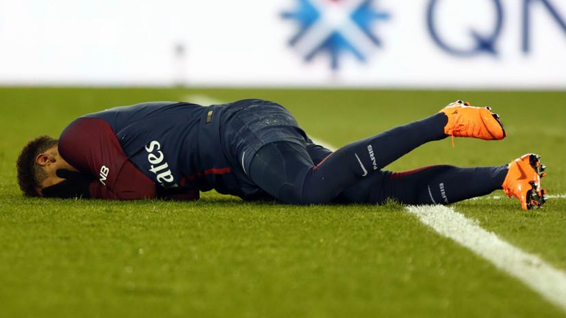 В сборной Бразилии по футболу прокомментировали травму Неймара