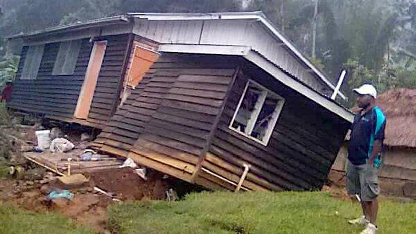 Землетрясение магнитудой 6,0 произошло в Папуа — Новой Гвинее