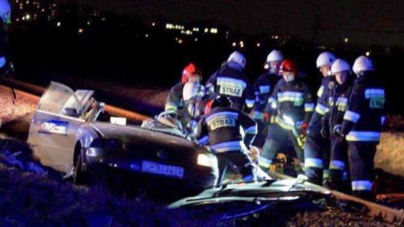 В Польше в ДТП с рельсовым автобусом погибли четверо граждан Украины