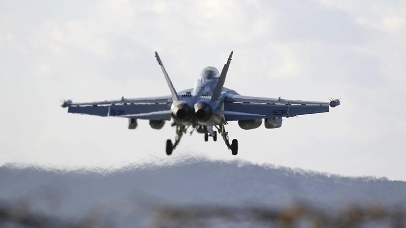 СМИ: Экипаж самолёта ВМС США получил обморожение на высоте 7,6 километра