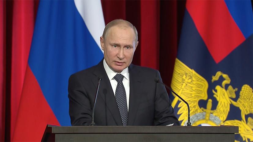 Путин обсудил с главой МВД России тему незаконного оборота наркотиков