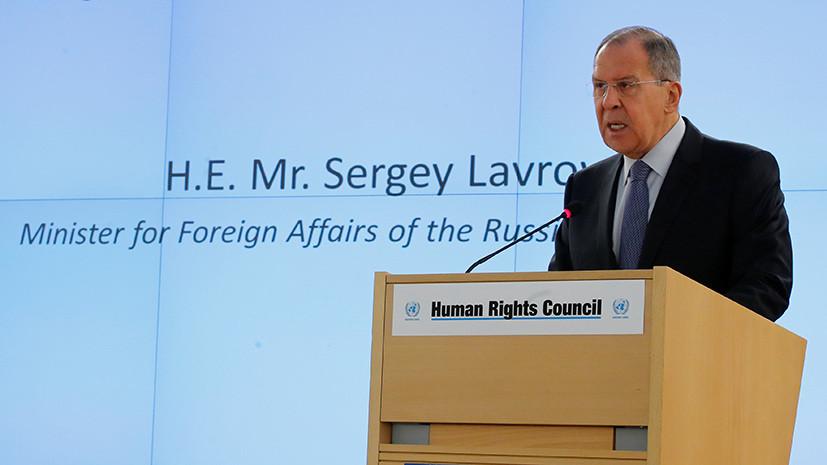 Лавров назвал агрессивной позицией наличие ядерных вооружений США в Европе