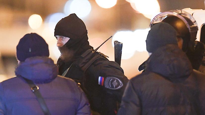 В Москве полицейские задержали стрелявшего из окна мужчину